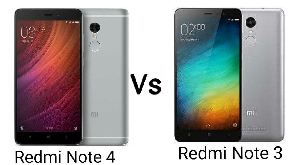 Xiaomi Redmi Note 4 Full Specification: Redmi Note 4 Vs Redmi Note 3: Full In-depth Comparison